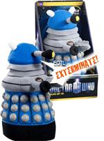Dr Who Plush Dalek - Blue with SFX