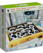 WWF Polar Bear Labyrinth - Wooden