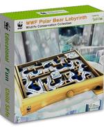WWF Polar Bear Labyrinth - Wooden