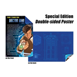 Poster - Dr Who 'Tardis Blue Print & Everything I Learned from Dr Who' - Special Edition Double-Sided Wall Poster