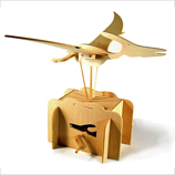 Flying Pteranodon Working Wooden Construction Kit