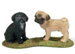 Schleich - Pug Puppies - 16383