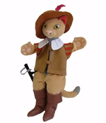 Puss In Boots - Character Hand Puppet