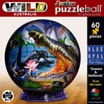Junior Puzzleball 15cm Oceans/Wetlands 60pieces
