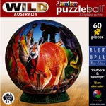 Junior Puzzleball 15cm Outback and Treetops 60pieces.