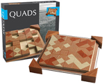 Quads - Wooden Magnetic Strategy Game