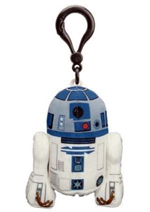 Star Wars - R2D2 4 Inch Talking Plush Clip On