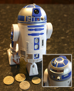 Star Wars R2-D2 Talking Money Bank