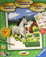Paint By Numbers -Fun at a gallop