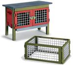 Schleich - Rabbit Hutch and Cage - 42019