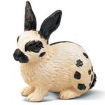Schleich - Rabbit Black and White - 13121