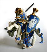 Papo - Ram Knight & Rearing Horse