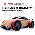 Automoblox - C9R Red/Black Sports Car