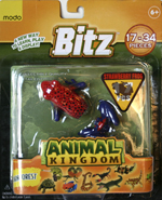 Bitz™ Animal Kingdom - Strawberry Frog 17 pcs