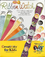 Opti Art Ribbon Watch by Fabre-Castell