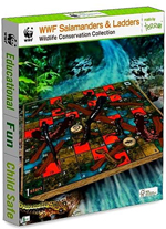 WWF Salamanders and Ladders - Wooden