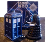 Doctor Who Ceramic Salt and Pepper Shaker Set