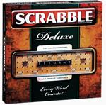 Scrabble Deluxe Prestige Set.
