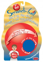 Scrunch Ball 23cm - Easily Inflate and Deflate