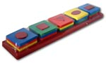 SHAPE UP Sorting & Stacking Puzzle 16 Pieces - NEW