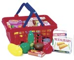 Shopping Basket and Play Accessories