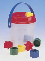 Shape Sorter Bucket.