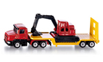 Siku - Low Loader with Excavator Die-cast replica 1611