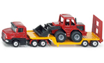 Siku - Low Loader with Front End Loader Die-cast replica 1616