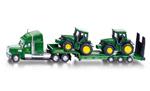 Siku - Low Loader with John Deere Tractors 1:87 Die-cast replica - 1837