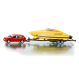 Siku - Audi with Speedboat and Trailer 1:55 Die-cast replica - 2543