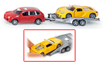 Siku - Porsche Cayenne with Trailer and Porsche GT Sports Car 1:55 Die-cast replica - 2544