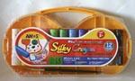 Amos - Silky Crayon 12pcs.