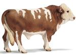 Schleich - Simmental Bull
