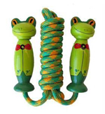 Frog Skipping Rope - Wooden Handled
