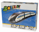 Solar Powered Bullet Train Construction Kit