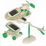 Educational Solar Powered 6 in 1 Experimenters Kit