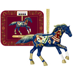 Trail of the Painted Ponies - 'Song of Angels' Hanging Christmas Figurine