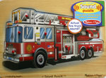 Sound  Peg Puzzle - Fire Truck 9pcs