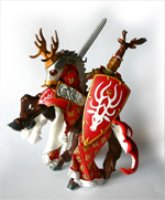 Papo Stag Knight and Horse