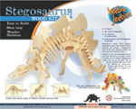 Stegosaurus Wooden construction kit - small