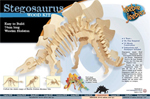 Stegosaurus Wooden construction kit