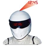 Top Gear Stig Helmet Projection Alarm Clock