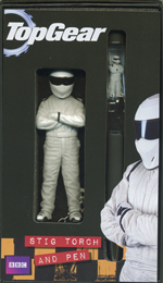 Top Gear Stig Keyring Torch & Floating Pen