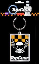 Top Gear Stig Helmet Keyring - metal