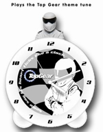 Top Gear The Stig Topper Alarm Clock