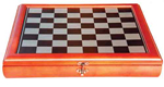 Traditional Timber Framed Storage Chess Board 34cm x 34cm