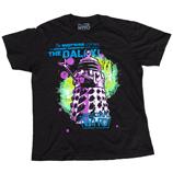 Dr Who - Supreme Dalek Retro Tee ShirtShirt