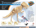 T-Rex Wooden construction kit.
