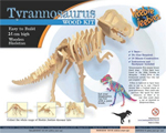 T-Rex Wooden construction kit - small