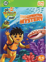Go Diego Go - Underwater Mystery - Tag Audio Book